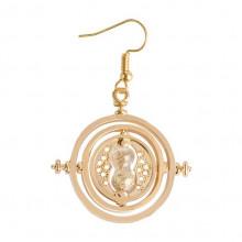 SE083-G Серьга (1 шт.) Песочные часы 3,5х3,5см, цвет золот.