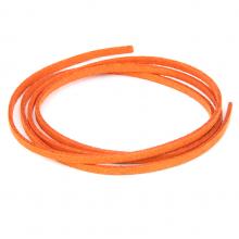 SHZ1055 Замшевый шнурок для амулета, цвет оранжевый