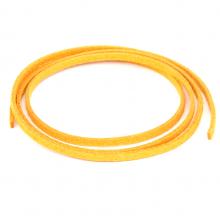 SHZ1058 Замшевый шнурок для амулета, цвет жёлто-оранжевый