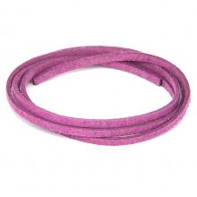 SHZ1065 Замшевый шнурок для амулета, цвет сиреневый