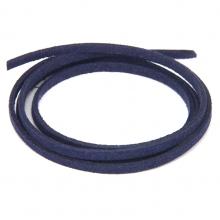 SHZ1075 Замшевый шнурок для амулета, цвет тёмно-синий