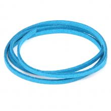 SHZ1080 Замшевый шнурок для амулета, цвет голубой