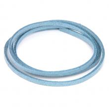 SHZ1083 Замшевый шнурок для амулета, цвет серо-голубой