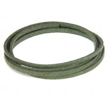 SHZ1138 Замшевый шнурок для амулета, цвет тёмно-зелёный