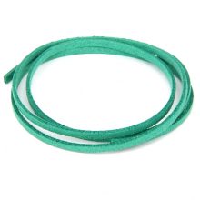 SHZ1141 Замшевый шнурок для амулета, цвет бирюзовый