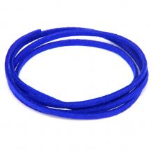 SHZ1146 Замшевый шнурок для амулета, цвет синий