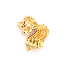 SP-K-03 Кошельковый сувенир Рыбка золотая, латунь