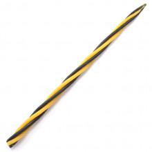 SVM7-11 Скрутка из 4-х свечей Очищение помещения, 100% воск, 21см, 2 чёрн., 2 жёлт.