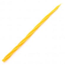 SVM7-18 Скрутка из 4-х свечей Энергия, 100% воск, 21см, 4 жёлт.