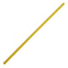 SWD023-01 Литая восковая свеча 20х0,6см, 1 час, цвет жёлтый