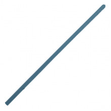 SWD023-04 Литая восковая свеча 20х0,6см, 1 час, цвет синий