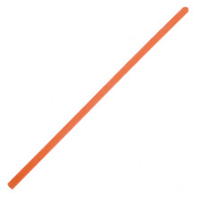 SWD023-06 Литая восковая свеча 20х0,6см, 1 час, цвет оранжевый