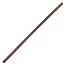 SWD023-08 Литая восковая свеча 20х0,6см, 1 час, цвет коричневый