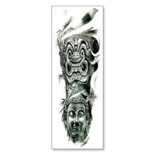 TTWD-003 Временная татуировка Будда, 150х420мм