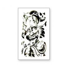 TTWM-122 Временная татуировка Демон, 60х105мм