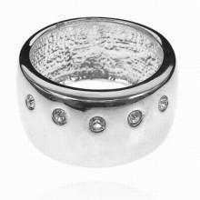 UC020-17 Кольцо со стразами Сваровски, размер 17
