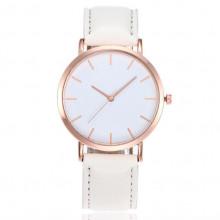 WA028-W Часы наручные с белым ремешком
