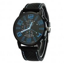 WA036-O Часы наручные чёрно-синие