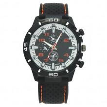 WA041-O Часы наручные чёрно-оранжевые