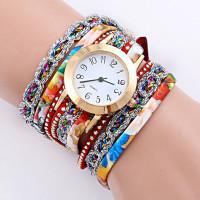 WA057 Часы - браслет, цветные