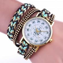 WA068-2 Часы - браслет Ведьмины знаки, цвет бирюзовый