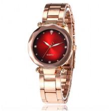 WA079 Наручные часы 23,5см цвет роз. золот.