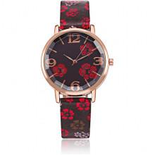 WA098 Наручные часы Цветы, d.3см