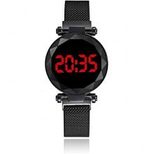 WA100-1 Наручные электронные часы, цвет чёрный