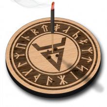 XP017 Подставка для благовоний Велес, бук