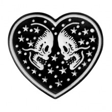 ZN068 Значок Вечная любовь, 30х35мм